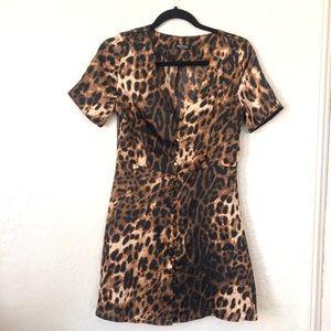 NASTY GAL | Mini Cheetah dress